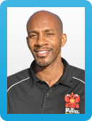 Larry Mims, personal trainer in Amsterdam